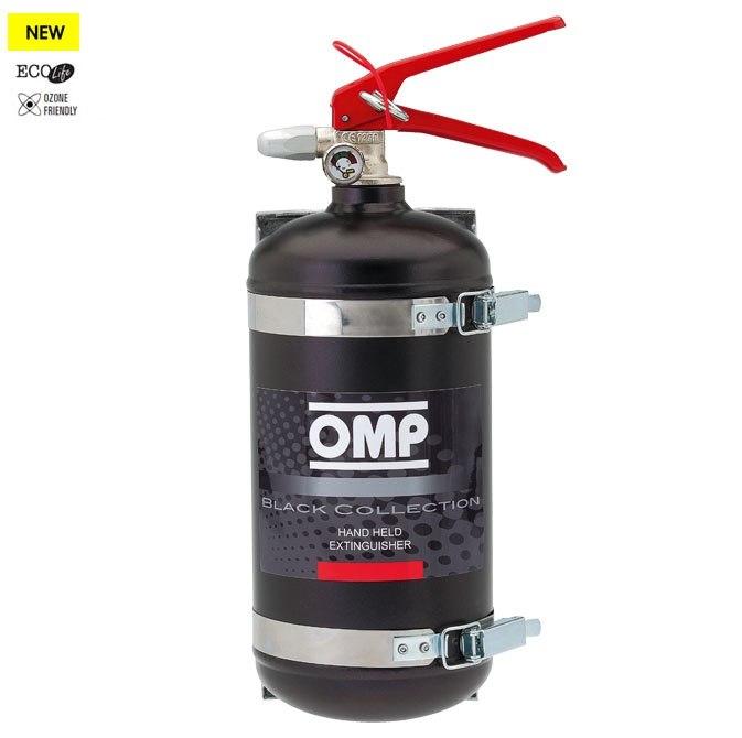 Gaśnica OMP Black Collection (CAB/319) - GRUBYGARAGE - Sklep Tuningowy